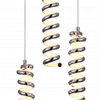 "Picture of 12"" LED Multi Point Pendant with Chrome finish"