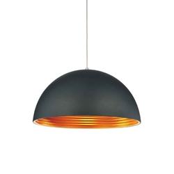 """12"""" Modest Industrial Pendant Black 1 Light"""