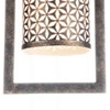 "Picture of 13"" 1 Light Up Chandelier with Golden Bronze finish"