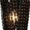 "Picture of 13"" 1 Light Wall Sconce with Blackened Bronze finish"