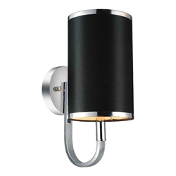"13"" 1 Light Wall Sconce with Chrome finish"