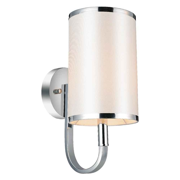 "Picture of 13"" 1 Light Wall Sconce with Chrome finish"