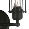 """Picture of 13"""" 2 Light Wall Sconce with Black finish"""