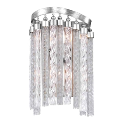 "13"" 2 Light Wall Sconce with Chrome finish"