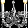 "Picture of 13"" 2 Light Wall Sconce with Chrome finish"