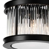 "Picture of 13"" 4 Light  Chandelier with Black finish"