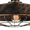 "Picture of 14"" 1 Light Down Mini Pendant with Antique Copper finish"