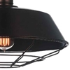 "Picture of 14"" 1 Light Down Mini Pendant with Black finish"