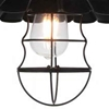 "Picture of 14"" 1 Light Down Pendant with Black finish"