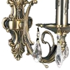 "Picture of 14"" 1 Light Wall Sconce with Antique Brass finish"