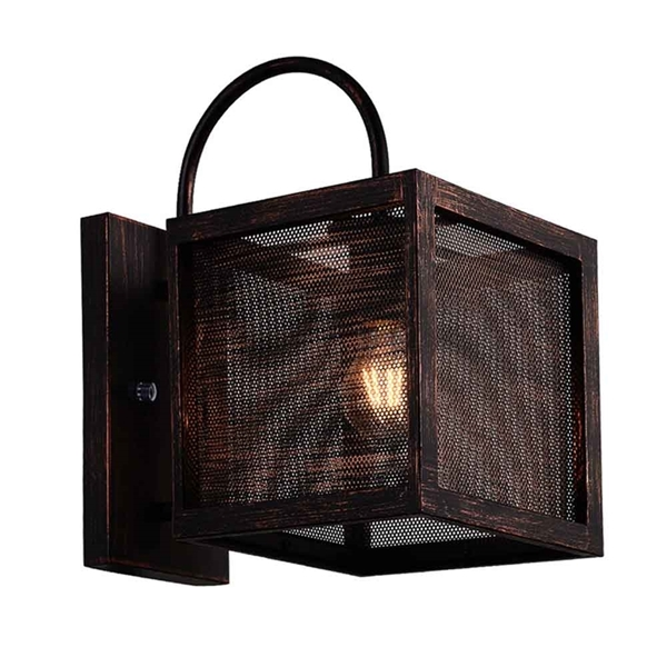 """Picture of 14"""" 1 Light Wall Sconce with Antique Copper Finish"""