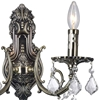 "Picture of 14"" 2 Light Wall Sconce with Antique Brass finish"