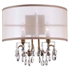 "Picture of 14"" 2 Light Wall Sconce with French Gold finish"