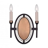 """Picture of 14"""" 2 Light Wall Sconce with Golden Brown finish"""