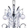 "Picture of 14"" 3 Light  Mini Chandelier with Chrome finish"