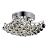 "Picture of 14"" 4 Light  Flush Mount with Chrome finish"