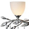 """Picture of 14"""" 4 Light Wall Sconce with Speckled Nickel finish"""
