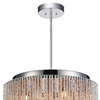 "Picture of 14"" 6 Light Drum Shade Mini Pendant with Chrome finish"