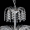 """Picture of 14"""" Fountain Crystal Round Chandelier Chrome / Gold 7 Lights"""