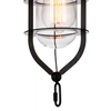 "Picture of 15"" 1 Light Down Mini Pendant with Black finish"
