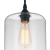 "Picture of 15"" 1 Light Down Mini Pendant with Clear finish"