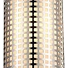 "Picture of 15"" 1 Light Drum Shade Mini Pendant with Satin Nickel finish"