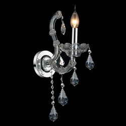 """15"""" 1 Light Wall Sconce with Chrome finish"""