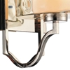 "Picture of 15"" 1 Light Wall Sconce with Chrome finish"