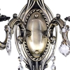 """Picture of 15"""" 2 Light Wall Sconce with Antique Brass finish"""