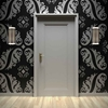 """Picture of 15"""" 2 Light Wall Sconce with Black finish"""
