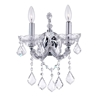 """Picture of 15"""" 2 Light Wall Sconce with Chrome finish"""