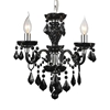 "Picture of 15"" 3 Light Up Chandelier with Chrome finish"