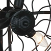 "Picture of 15"" 3 Light Wall Sconce with Black finish"