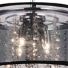 """Picture of 15"""" 4 Light Drum Shade Mini Pendant with Chrome finish"""