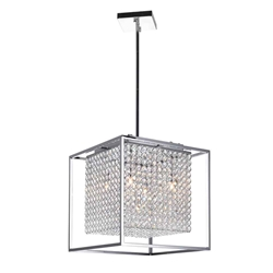 """15"""" 5 Light  Chandelier with Chrome finish"""