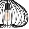 """Picture of 16"""" 1 Light Down Pendant with Black finish"""