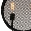 """Picture of 16"""" 2 Light Up Pendant with Black finish"""