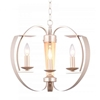 "Picture of 16"" 3 Light  Chandelier with Pewter finish"