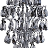 """Picture of 16"""" 3 Light Table Lamp with Chrome finish"""