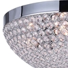 """Picture of 16"""" 4 Light Bowl Flush Mount with Chrome finish"""