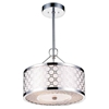 "Picture of 16"" 4 Light Down Chandelier with Chrome finish"