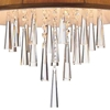 "Picture of 16"" 4 Light Drum Shade Chandelier with Chrome finish"