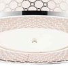 """Picture of 16"""" 4 Light Drum Shade Flush Mount with Chrome finish"""