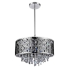 "Picture of 16"" 5 Light Drum Shade Chandelier with Chrome finish"
