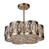 "Picture of 16"" 6 Light  Chandelier with Champagne finish"