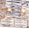 "Picture of 16"" 8 Light Down Chandelier with Bright Nickel finish"