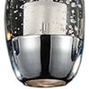 "Picture of 16"" Bolle Modern Chrome Coated Crystal Linear Eliptical Mini Pendants Rectangular Base 3 Lights"