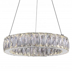 """16"""" LED  Chandelier with Chrome finish"""