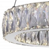 "Picture of 16"" LED  Chandelier with Chrome finish"