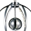 "Picture of 16"" LED  Mini Pendant with Chrome finish"